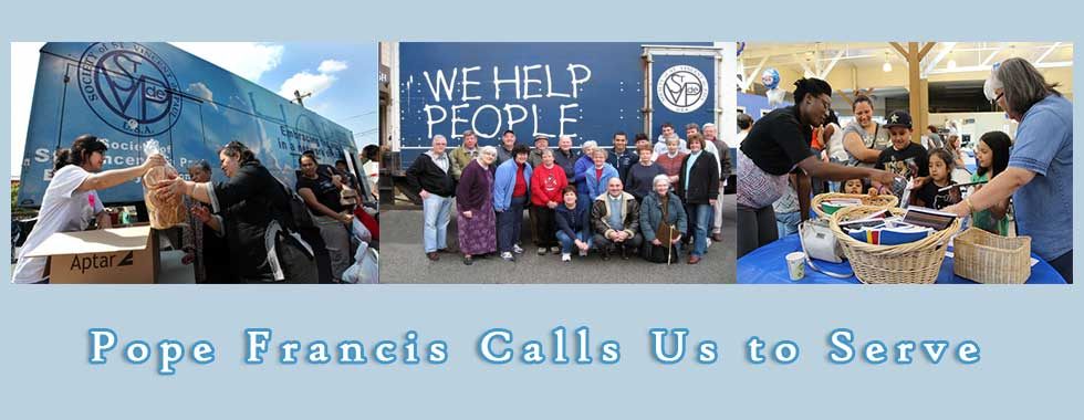 pope Francis calls us to serve